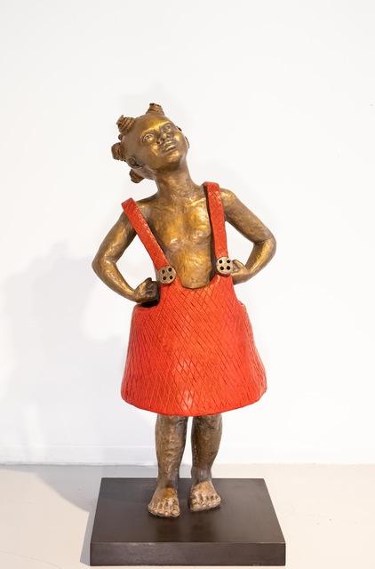 Kari Lena Flåten, 'Little Girl', 2020, Sculpture, Bronze, GALLERI RAMFJORD