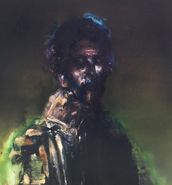 , 'Duc sur fond vert,' 2017, Galerie C.O.A