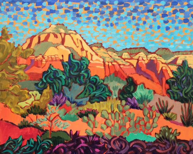 ", '""Sedona Color"" ,' 2016, Bonner David Galleries"
