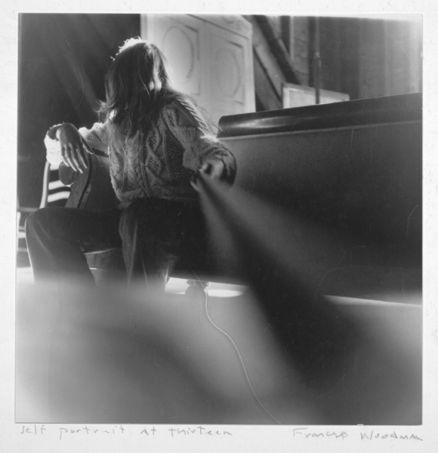 , 'Self-portrait at 13, Antella, Italy (E.1),' 1972, Andréhn-Schiptjenko