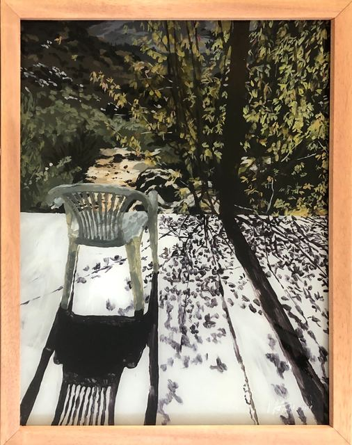 Isabella Kuijers, 'Sitplek, Cedarberg', 2019, Painting, Acrylic on glass, 99 Loop Gallery