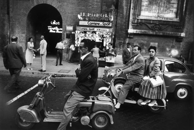 , 'Red Light and Vespa, Rome,' 1956, Atlas Gallery