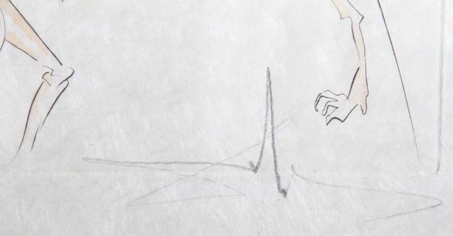 Salvador Dalí, 'Les Animaux Malades de la Peste from Le Bestiaire de la Fontaine', 1974, Print, Etching with Pochoir on Japon paper, RoGallery