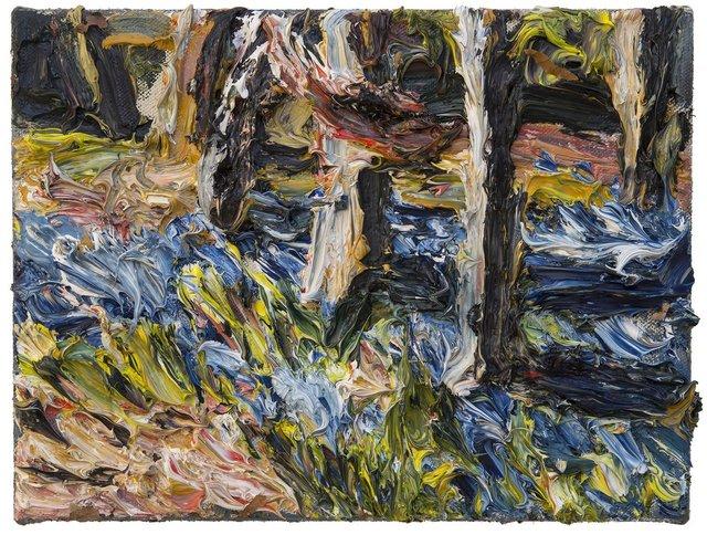 , 'Blüten und Stämme,' 2017, Galerie Kornfeld