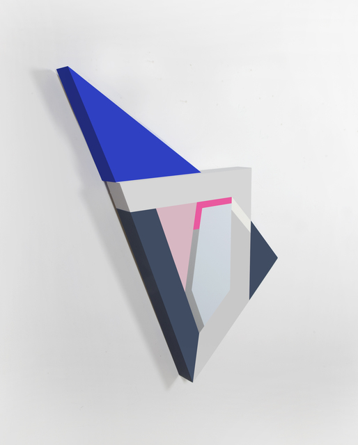 """, '""""Polygon in Space #28"""",' 2015, Circuit12"""