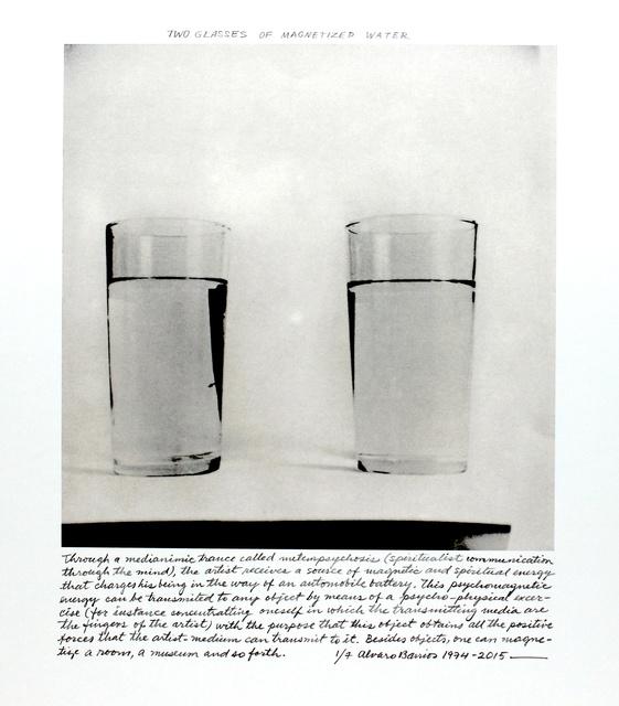 """, '""""Dos vasos con agua magnetizada"""",' 1974, Henrique Faria Fine Art"""