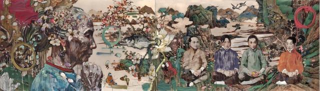 , 'Peach Blossom Spring V,' 2012, Turner Carroll Gallery