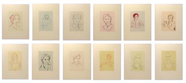 , 'Twelve Portraits,' 2014, Carolina Nitsch Contemporary Art