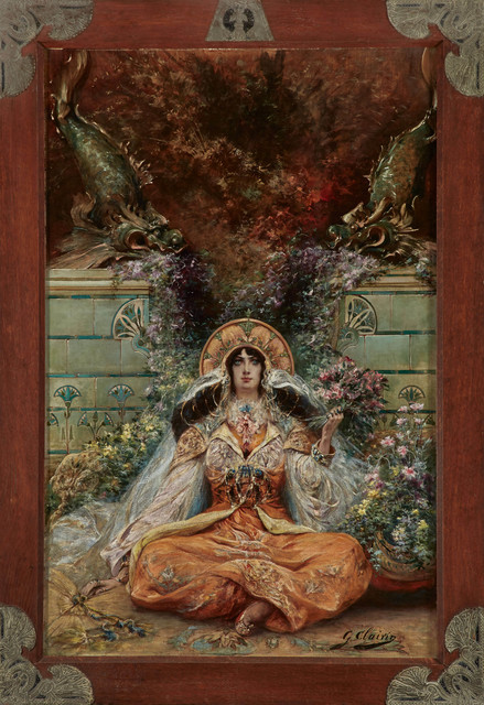 , 'Sarah Bernhardt in the Role of Izeyl,' ca. 1894, Jack Kilgore & Co.
