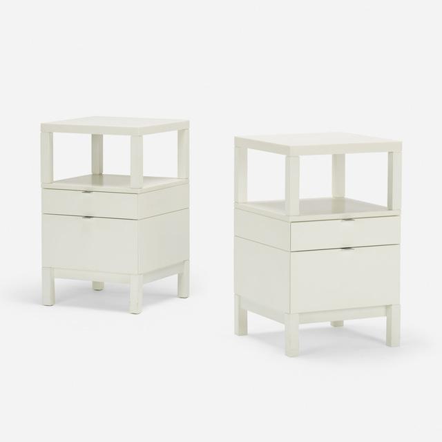 Stanley Tigerman, 'Custom nightstands from the Neisser Condominium, pair', 1997, Wright