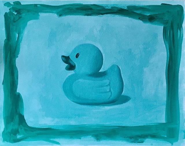 , 'Duck Memory,' 2017, Geary