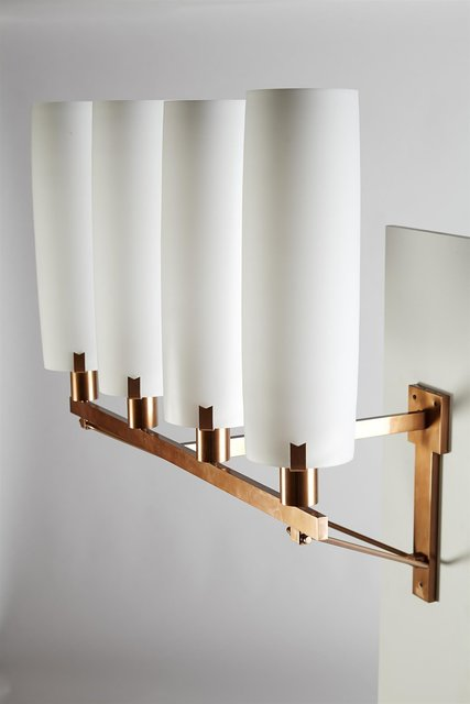 , 'Monumental wall lamps,' 1950's, Modernity