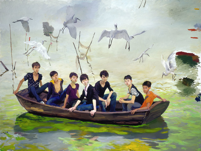 , 'Into Taihu,' 2010, Faurschou Foundation