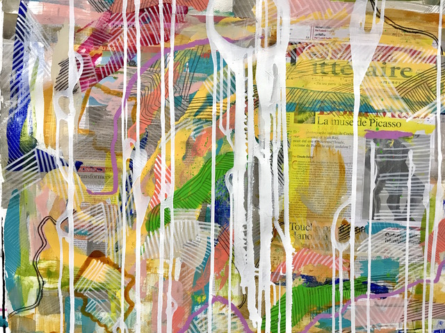 , 'Parisian Boomerang Series #13,' 2017, Adelman Fine Art