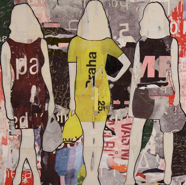 , 'Praha Girls Standing,' 2016, Lanoue Gallery