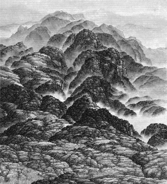 , 'Mountains in the Mist,' 2004, M. Sutherland Fine Arts