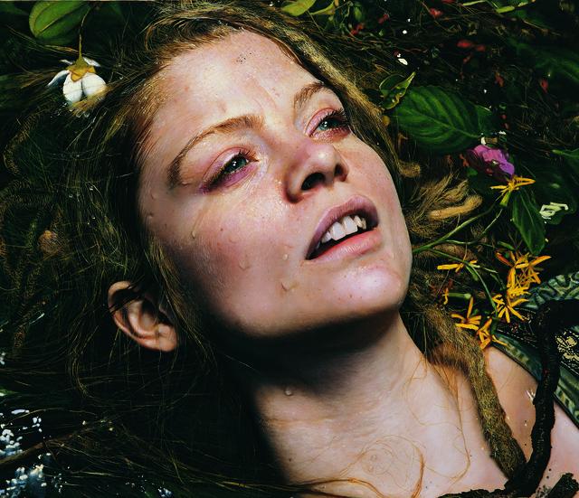 Yigal Ozeri, 'Untitled; Priscilla in Ecstasy', 2008, Louis K. Meisel Gallery