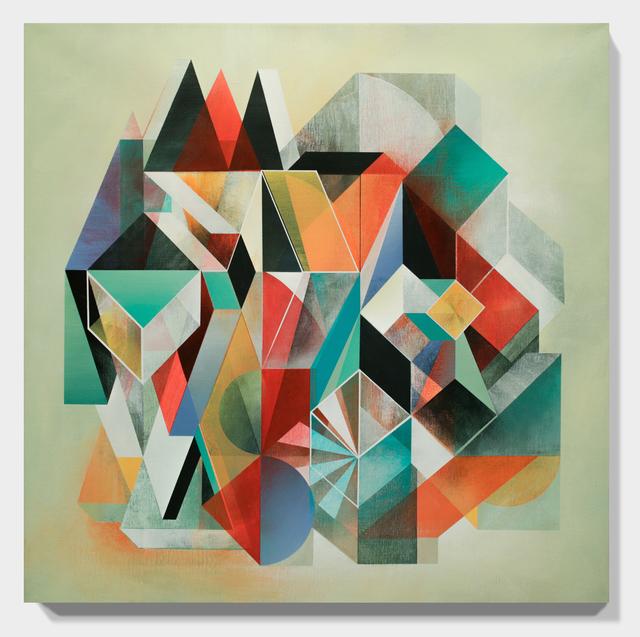 Anna Taratiel (OVNI), 'Castles', 2014, Painting, Acrylic on canvas, Paradigm Gallery + Studio