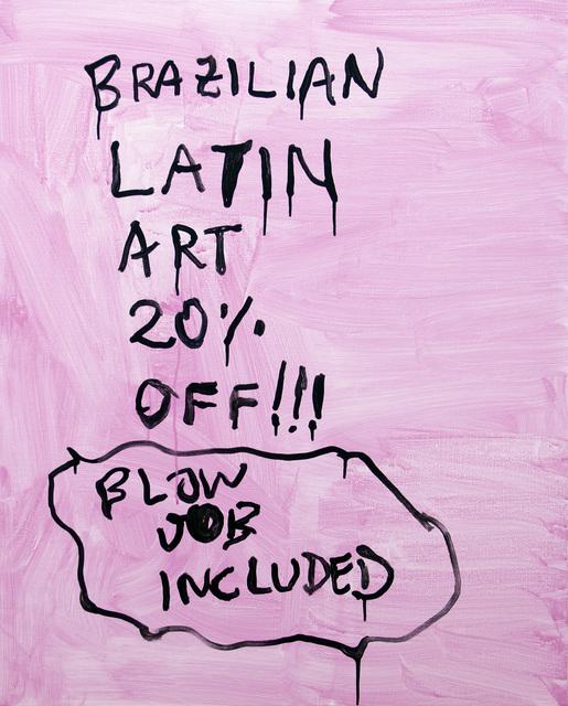 , 'Pintura sem título (Latin Art),' 2017, Cavalo