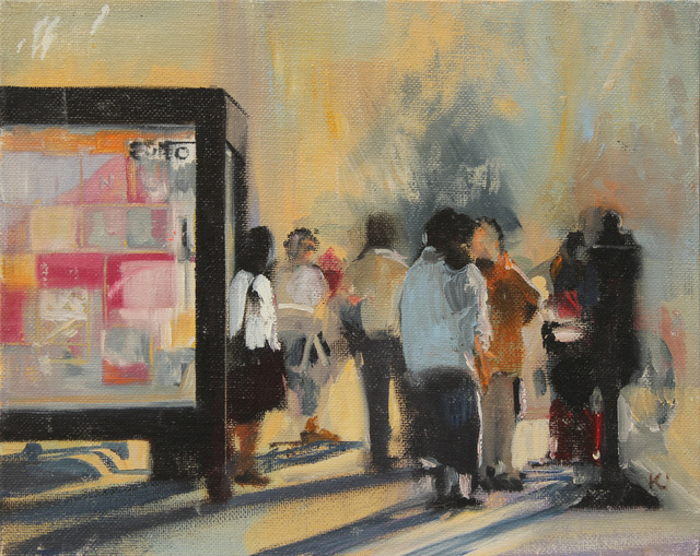 , 'Bus Stop, Long Shadows,' 1991, Addison/Ripley Fine Art