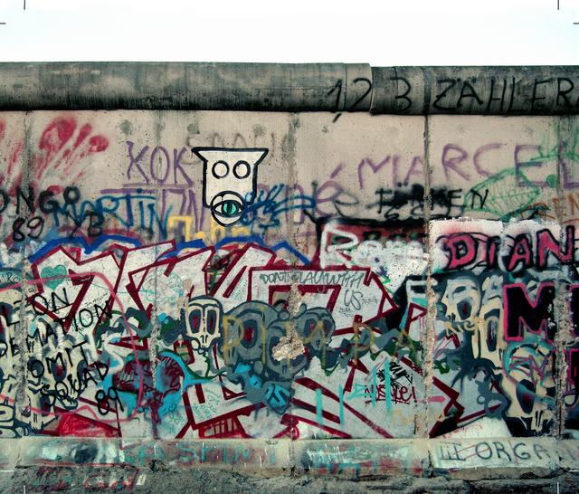 Michel Hosszu, 'MUR DE BERLIN – 10', 1990, Poulpik Gallery