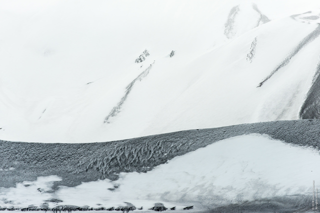 Leonard Sussman, 'Ash-Layered Glacier, Deception Island, South Shetland Islands, Antarctica', 2018, Garvey | Simon