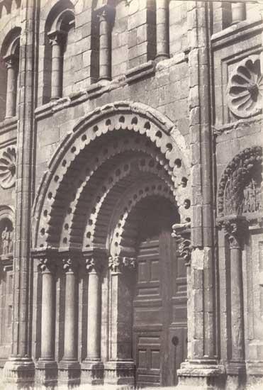 Charles Clifford, 'Zamora, La Catedral, Porte del Sol o del Obispo', 1854/1854c, Contemporary Works/Vintage Works