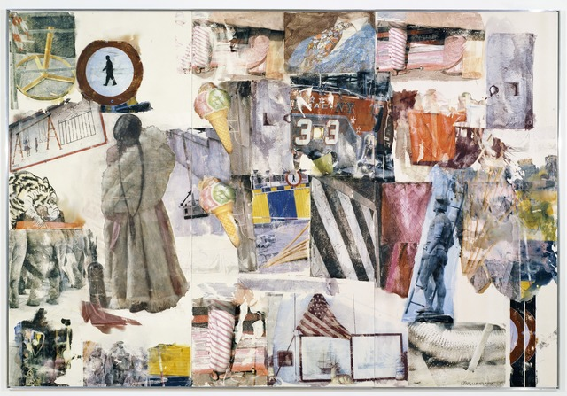 Robert Rauschenberg, 'Port of Entry [Anagram (A Pun)]', 1998, San Francisco Museum of Modern Art (SFMOMA)