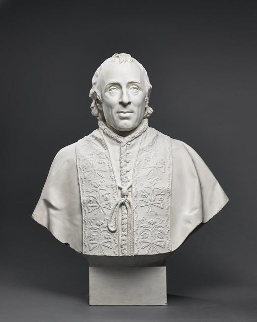 , 'Buste de Pie VII (Bust of Pius VII) ,' 1805, Château de Fontainebleau