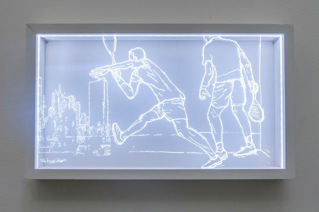 Maria Schneider, 'Nick and Mo...Dancing in the City', 2014, InLiquid