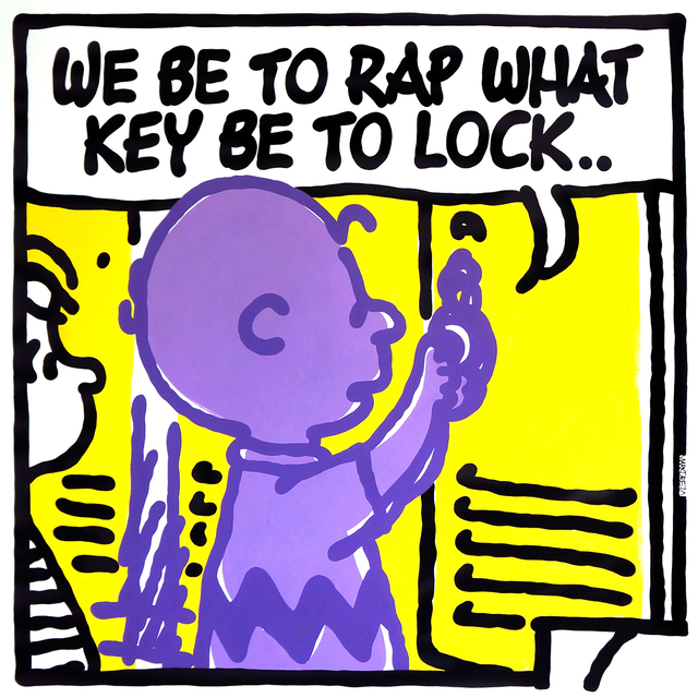 , 'LOCK (Digable Planets),' 2019, StolenSpace Gallery