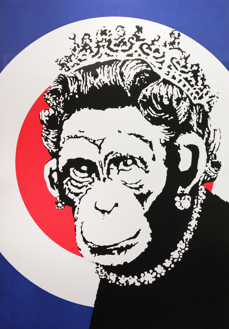 Banksy, 'Monkey Queen', 2003, Gormleys Fine Art