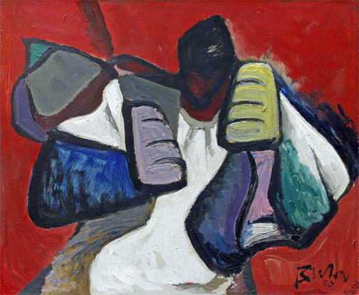 Jack Bush, 'THE FIGHTER', 1950, Roberts Gallery Ltd.