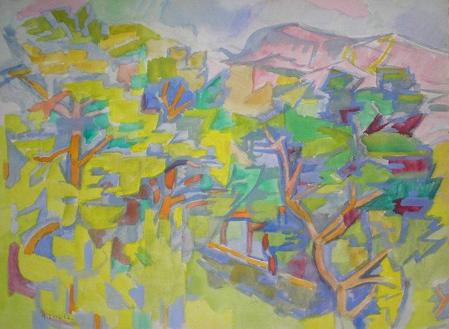 , 'Les Pins,' 1954, Nicholas Gallery