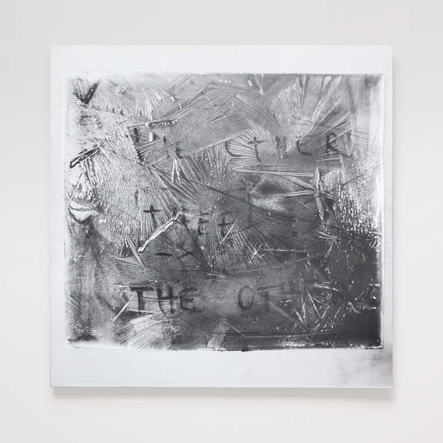 , 'The Other (Frozen Plates, Collaboration with the Cold),' 2015, SILAS VON MORISSE gallery