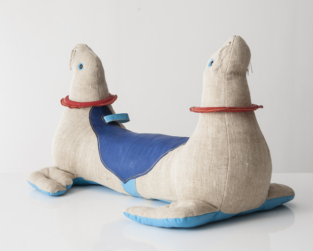 """, 'Double-face """"Therapeutic Toy"""" Seal,' 2013, R & Company"""