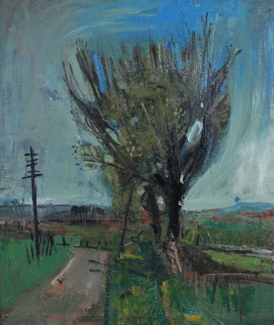 , 'A Country Road,' 1957, Castlegate House Gallery