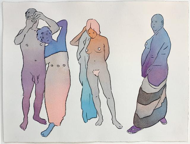 Dan Gluibizzi, 'Evening poolside', 2018, Russo Lee Gallery