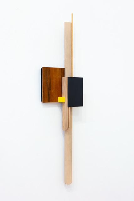 Levente Bálványos, 'Black yellow relief', 2019, VILTIN Gallery