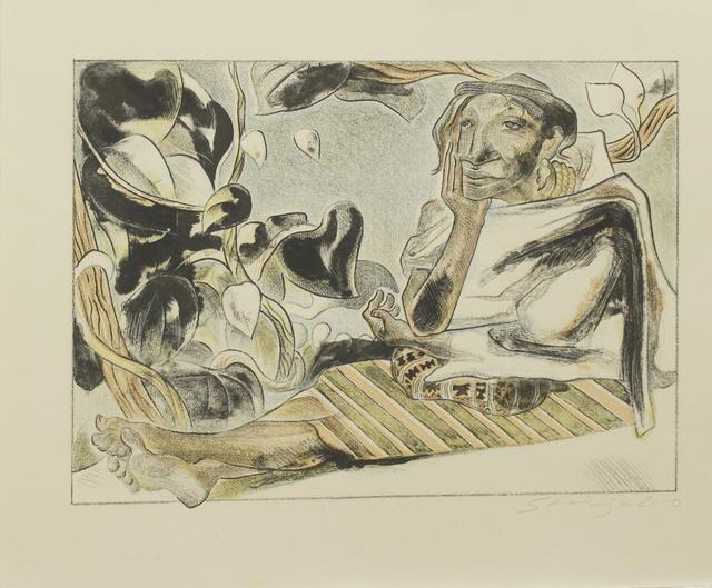 Shinzaburo Takeda, 'Anciana de Pinotepa de Don Luis', 1987, La Mano Magica