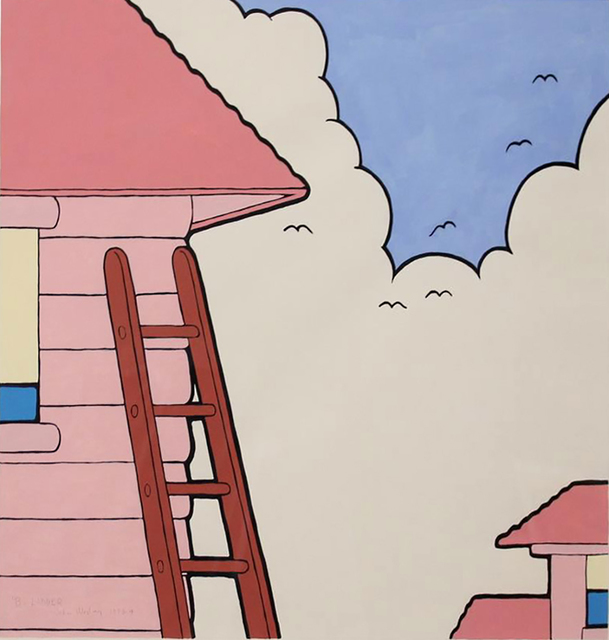 , 'B's Ladder,' 1973-1974, Hollis Taggart