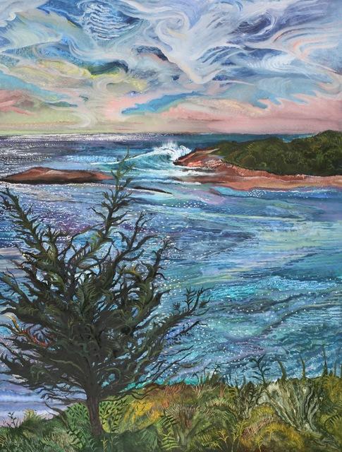 , 'August Ocean,' 2019, Gallery NAGA