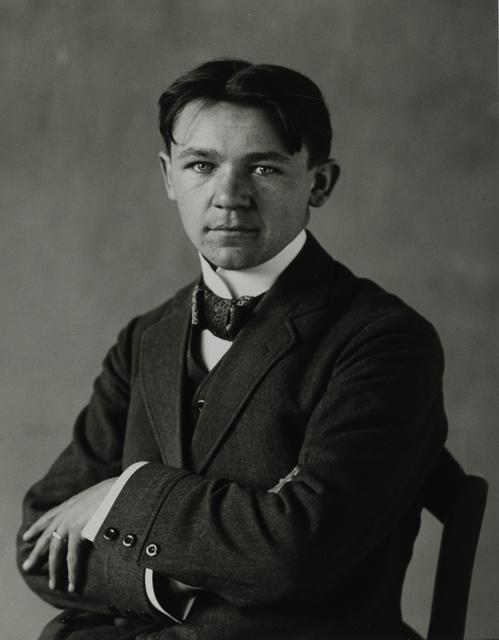 August Sander, 'Merchant's Clerk, 1912', Galerie Julian Sander
