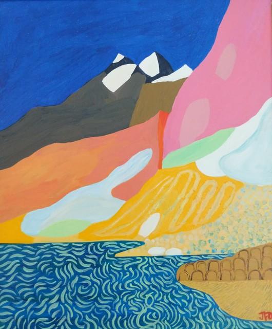 , 'Mountain Lake,' 2019 , Kittoe Contemporary