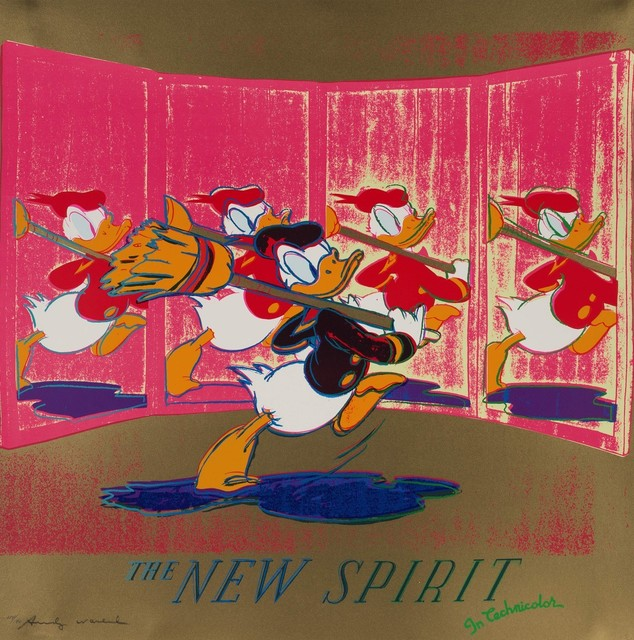 Andy Warhol, 'Ads-The New Spirit (Donald Duck)', 1985, Collectors Contemporary