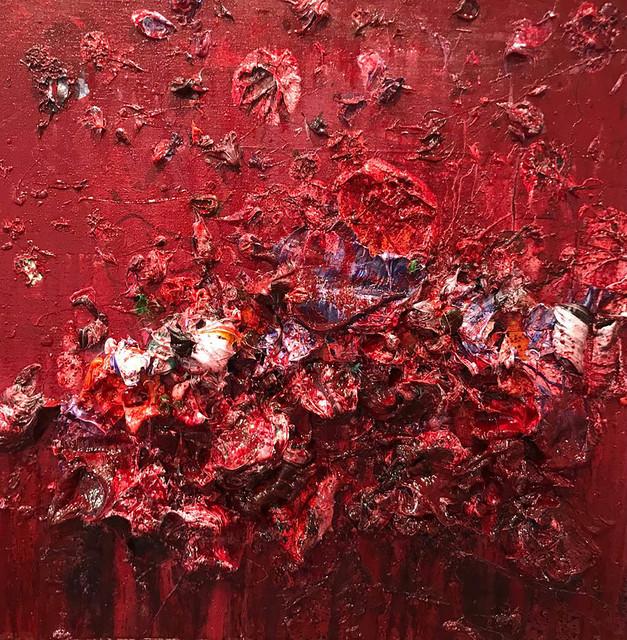 , 'Red I,' 2018, Aurora Vigil-Escalera Art Gallery