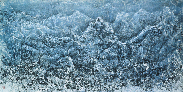 , 'The Thawing Snow Mountain,' 2009, Galerie du Monde