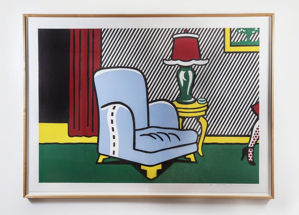 """Roy Lichtenstein, """"La Sortie"""""""