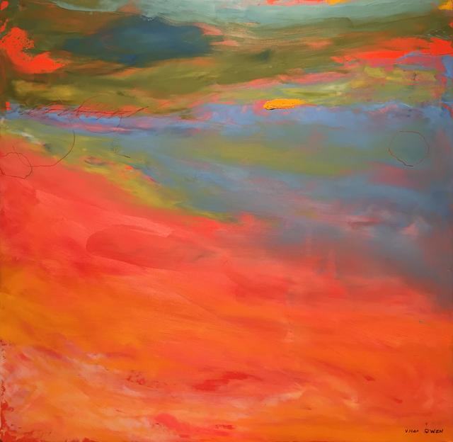 , 'Moon,' 2018, M.A. Doran Gallery