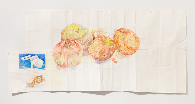 , 'Candy Bar and Apples,' 2012, Slag Gallery